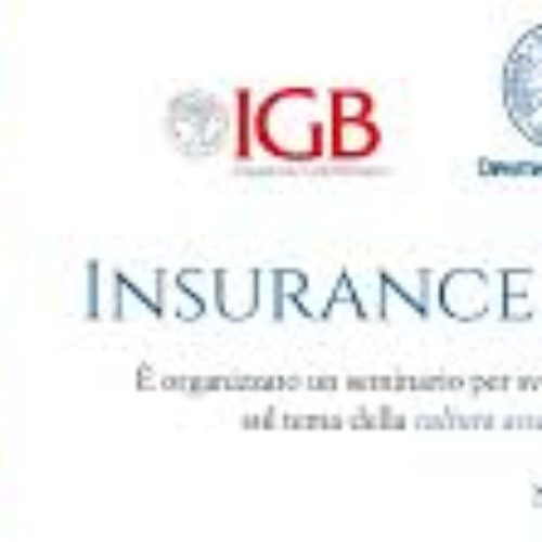 """Arriva a Napoli l' """"Insurance and Finance Day"""""""