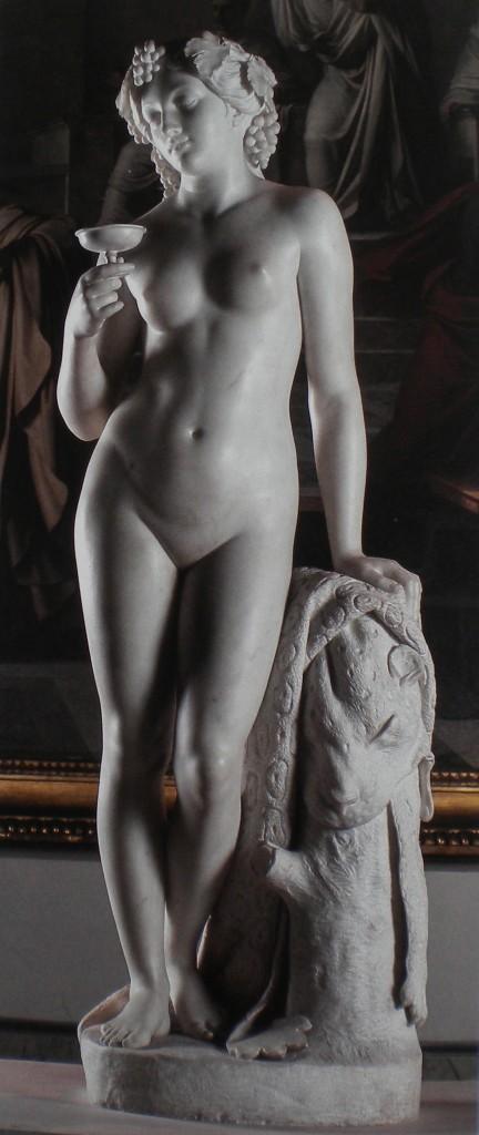 fig. 13 - Tommaso Solari - Baccante - marmo - 172 - 55 - 62 - intorno 1850 - 60 - Napoli museo di Capodimonte