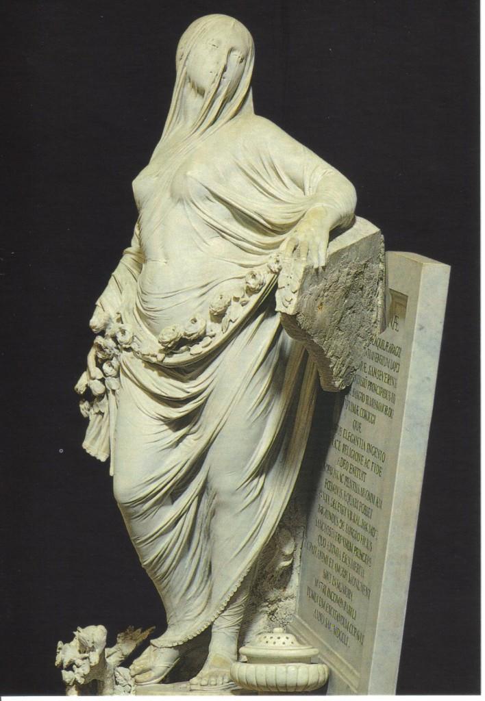 fig. 15 - Antonio Corradini - Pudicizia - 1752 - Napoli Cappella San Severo