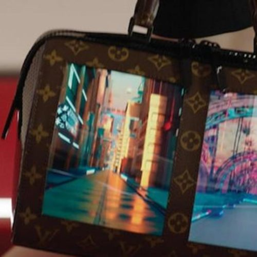 Vuitton, la borsa con il display flessibile